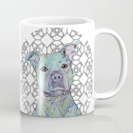 Staffy Portrait Coffee Mug
