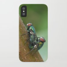Flies iPhone X Slim Case