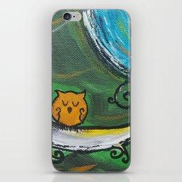 Owl Sleeps In iPhone Skin