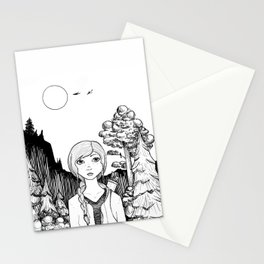 Katniss's Silver Lining Stationery Cards