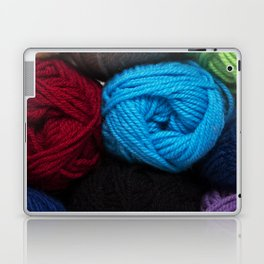 Knitting Bag One Laptop & iPad Skin