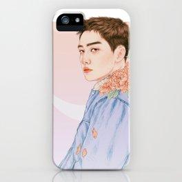 evening sky [d.o. kyungsoo exo] iPhone Case
