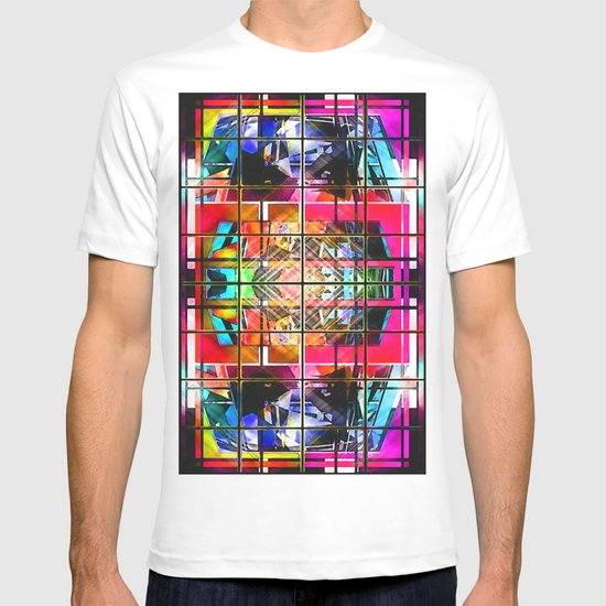 3-D-GEOMETRY AND COLOR. T-shirt