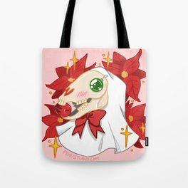 Mari Lwyd Tote Bag