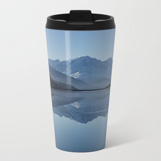 Idyllic Lake Metal Travel Mug