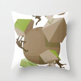 fun team Throw Pillow