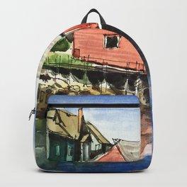 Peggy's Cove Nova Scotia Canada Backpack
