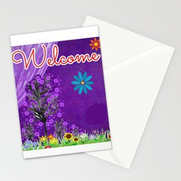 WELCOME Stationery Cards