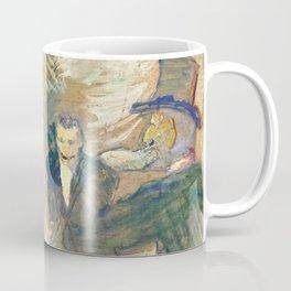 """Henri de Toulouse-Lautrec """"Au Bal masqué de l'Elysée Montmartre"""" Coffee Mug"""