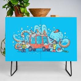 Octopus Carwash Credenza