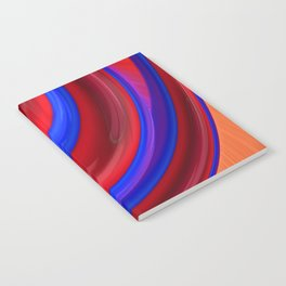 Beautiful Abstract Art by Raphael Terra Notebook