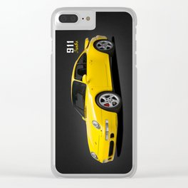 911 Turbo Type 993 Clear iPhone Case