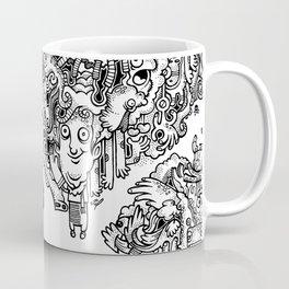 Oven Mitt Machine Coffee Mug