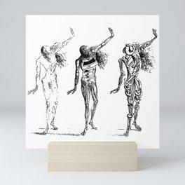 Salvador Dali Sketches - Trois sécheresses Mini Art Print