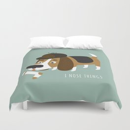 I Nose Things Duvet Cover