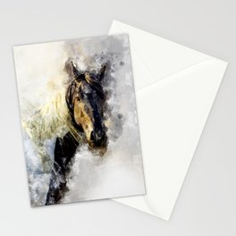 Glitter Horse Stationery Cards