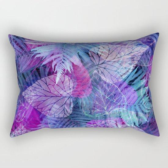 Forest Flora 3 Rectangular Pillow
