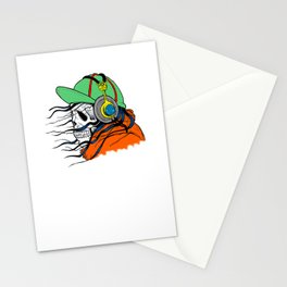 Skull 5 Stationery Cards