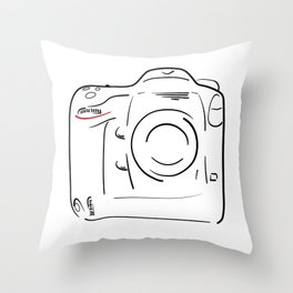 D4 Throw Pillow