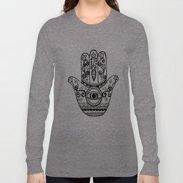 Hamsa Hand Long Sleeve T-shirt