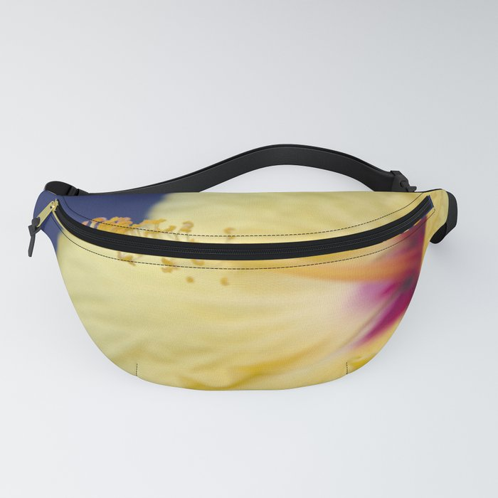 Kihei Hawaii Yellow Hibiscus Flowers Fanny Pack
