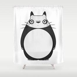 Panda Neighbor Shower Curtain