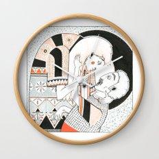 A soft murder Wall Clock