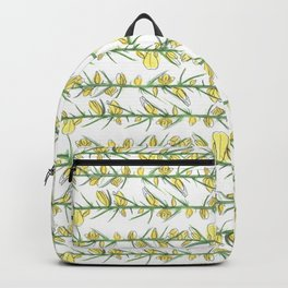 Manx flora - gorse Backpack