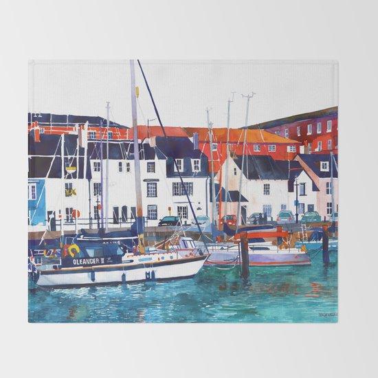 Weymouth Port Throw Blanket