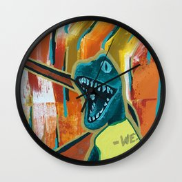 You Shred Raptors? Wall Clock