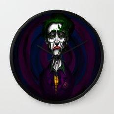 Sad Joker Wall Clock
