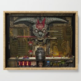 Ions of  Doom Serving Tray
