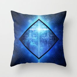 A Star Will Guide You Through the Dark of Winter Throw Pillow