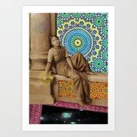 On Top of the Stars Art Print