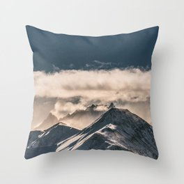 Mountains II #landscape photography Throw Pillow