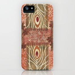 Monoprint 14 iPhone Case