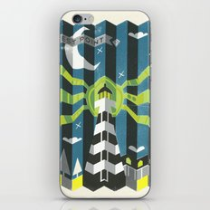 Haunted West Point Light House iPhone & iPod Skin