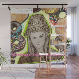 (Cara - Embrace Your Weirdness) - yks by ofs珊 Wall Mural