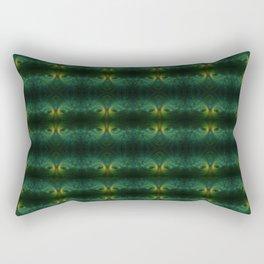 Peacock Sunset Rectangular Pillow
