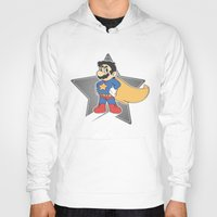 super mario Hoodies featuring Super Mario by tshirtsz