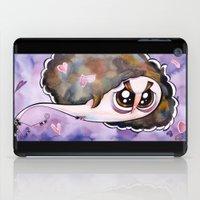 scott pilgrim iPad Cases featuring Scott Pilgrim caricature by Eric Goodwin