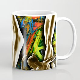 Woman In The Machine Frieze Color 1 Coffee Mug
