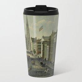 Wall Street 1847 Travel Mug