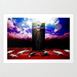 The New God Art Print