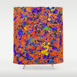 Abstract #912 Shower Curtain
