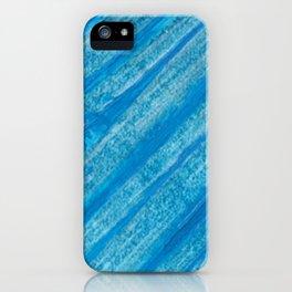 Acrilic Blue iPhone Case