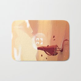 The journey of the brave knight  Bath Mat