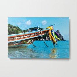 Long-Tail Koh Tao, Thailand Metal Print
