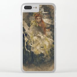 Veneziana d'Oro Grunge I Clear iPhone Case