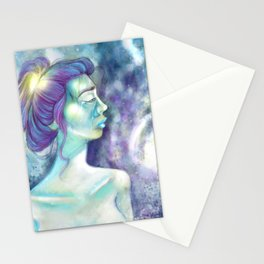 Stationery Cards 0 Grief by C. B. Miller Art